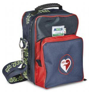 1368/RB: Custodia per defibrillatore con tasca anteriore piccola