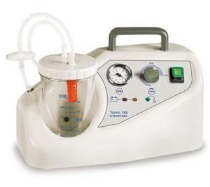 Aspiratore chirurgico portatile a 230V tecno 16b - 1lt